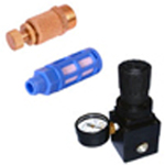 Air Pressure Regulators & Silencers