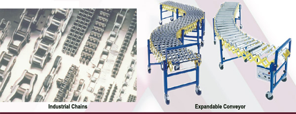 Industrial chains, Expandable Conveyor